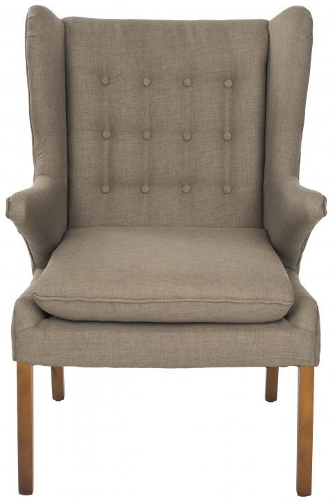 Safavieh - MCR4653B GOMER ARM CHAIR - OLIVE