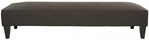 Safavieh - MCR4669B HARLOW LOUNGING BENCH - GRAY PINSTRIPE