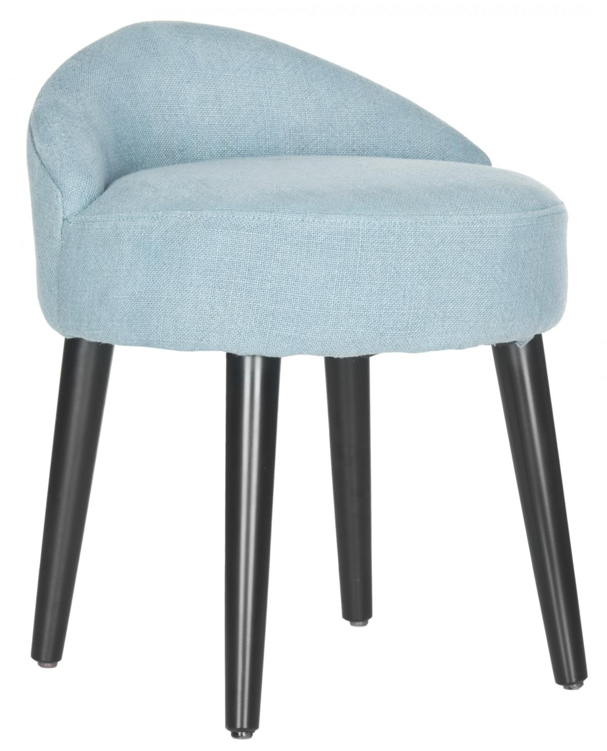 Safavieh - MCR4693A BRINDA VANITY CHAIR - LIGHT BLUE