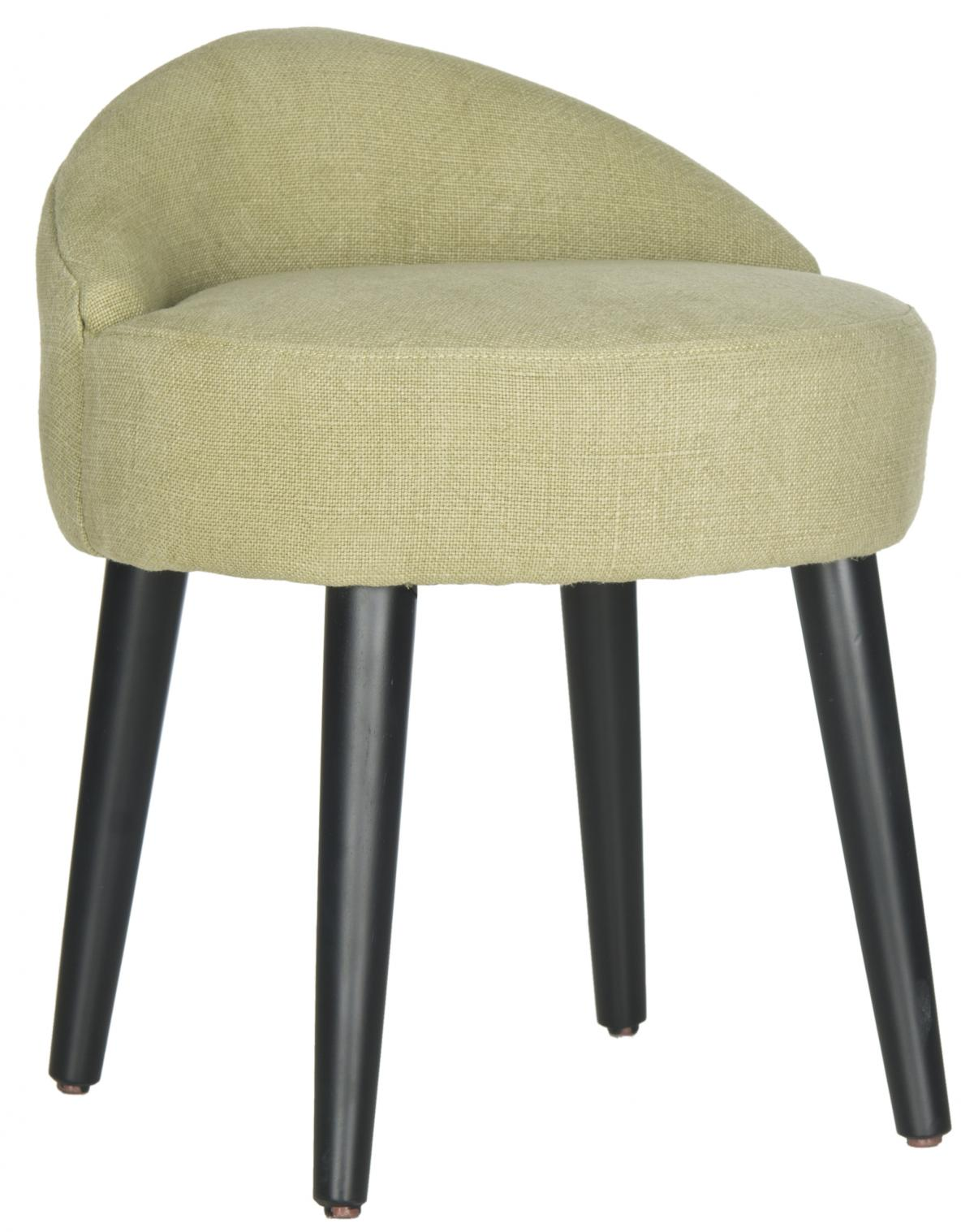 Safavieh - MCR4693B BRINDA VANITY CHAIR - GREEN MIST