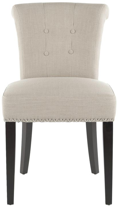 Safavieh - MCR4704A SINCLAIR DINING CHAIRS - BEIGE (...