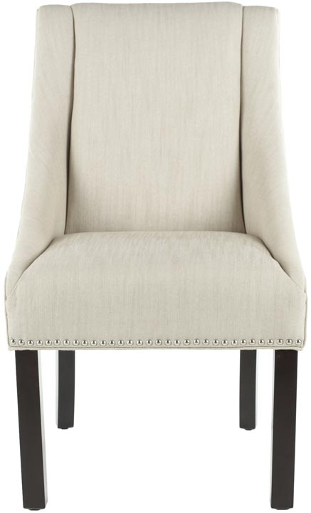Safavieh - MCR4708A MORRIS ARM CHAIR - BEIGE (SET OF ...