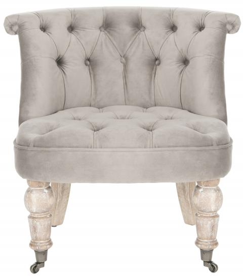 Safavieh - MCR4711C CARLIN TUFTED CHAIR