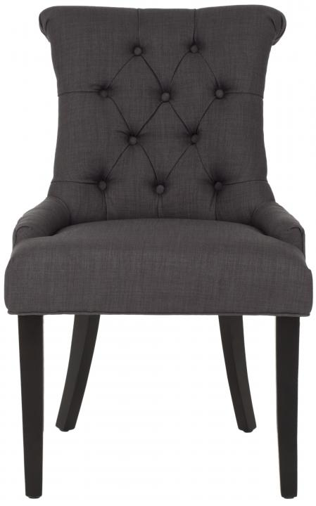 Safavieh - MCR4712D BOWIE SIDE CHAIRS - CHARCOAL (SET ...