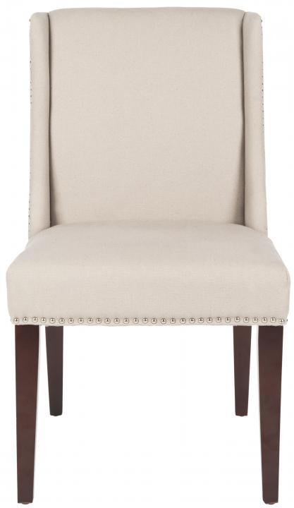 Safavieh - MCR4713A HUMPHREY DINING CHAIR - TAUPE (SET OF TWO)