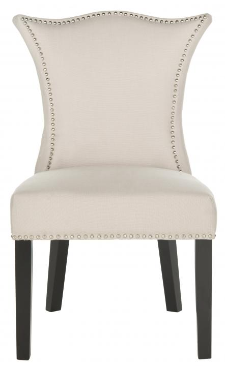 Safavieh - MCR4717B CIARA SIDE CHAIR - TAUPE (SET)