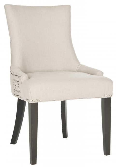 Safavieh - MCR4718A GRETCHEN SIDE CHAIR - TAUPE LINEN ...