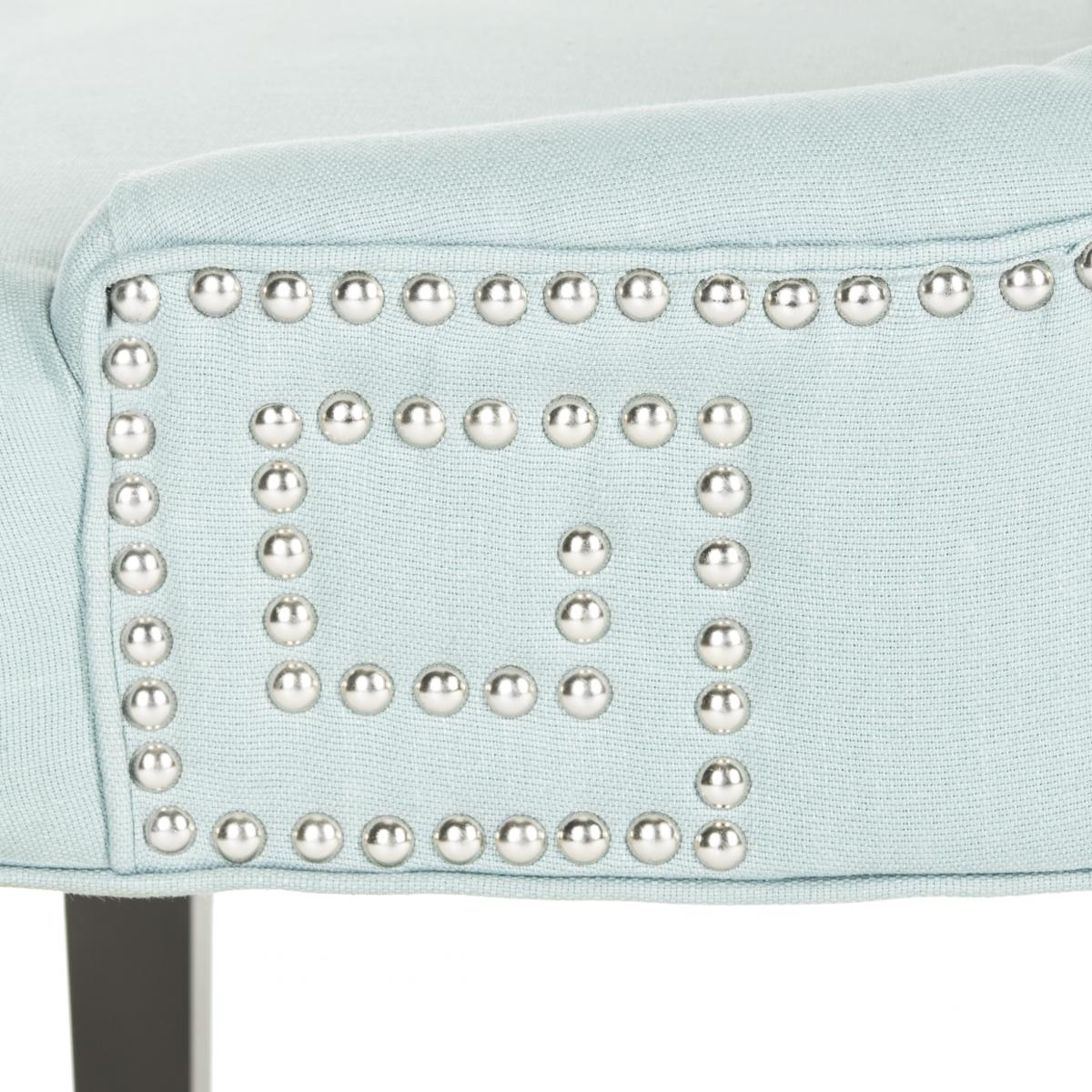 Safavieh - MCR4718B GRETCHEN SIDE CHAIR - LIGHT BLUE ...