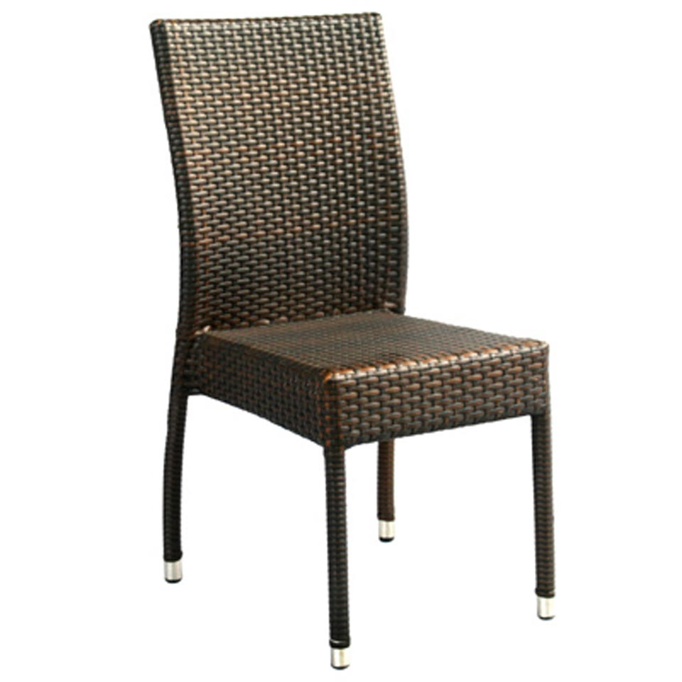 Safavieh - PAT1015A NEWBURY WICKER CHAIR (SET OF 2)