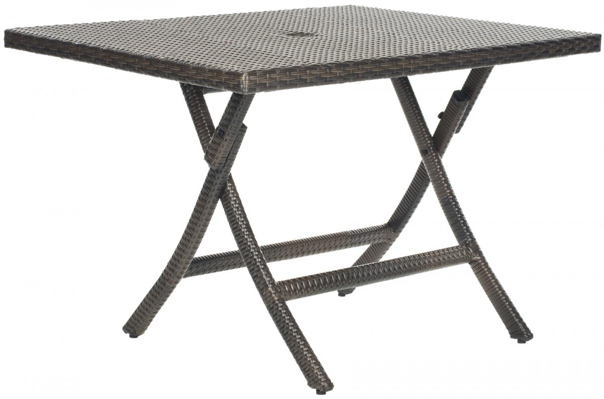 Safavieh - PAT2002A SAMANA SQUARE FOLDING TABLE