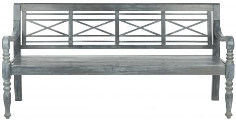 Safavieh - PAT6704A KAROO OUTDOOR BENCH