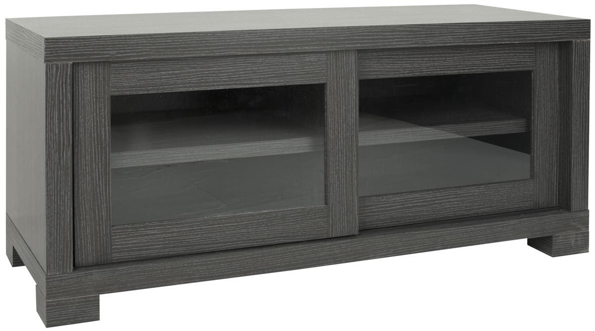 Safavieh - SEA1003B DAVIS SLIDING DOOR TV CABINET