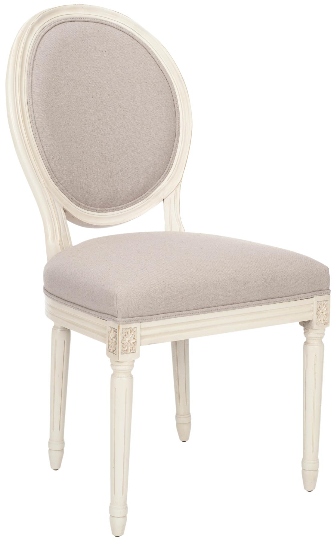 Safavieh MCR4517C PARIS OVAL SIDE CHAIR SET OF TWO $801 00