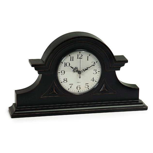 IMAX 2631 Black Mantel Clock
