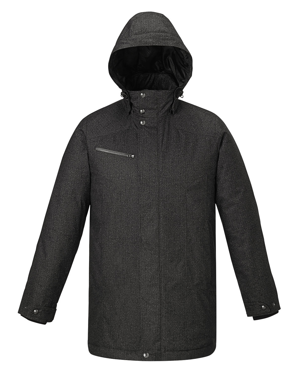 Ash City Insulated 88684 - Enroute Men's Textured Insulated Jacket With Heat Reflect Technology