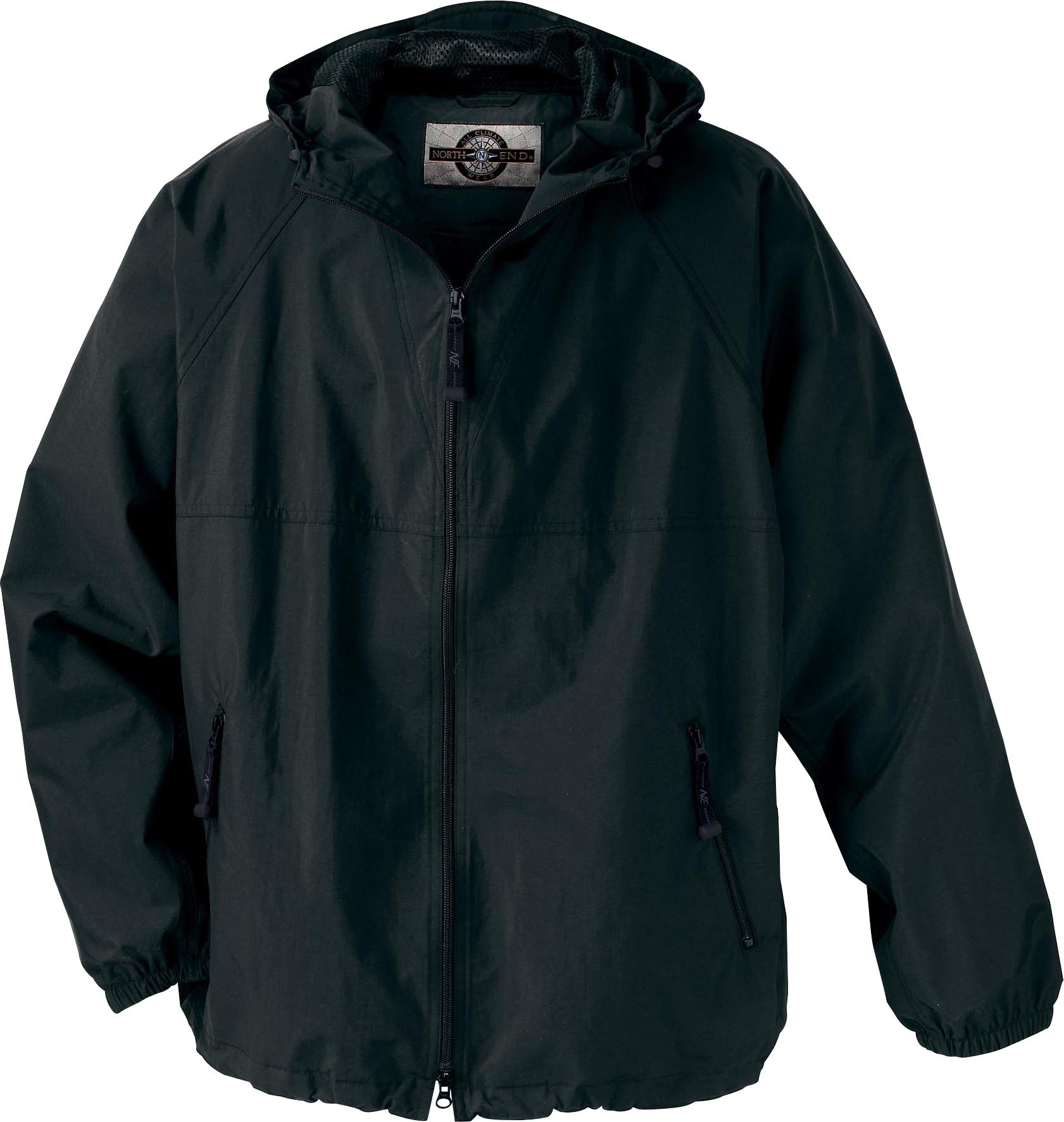 Ash City Lightweight 88017 - Men's Techno Lite Ezepack Hooded Jacket