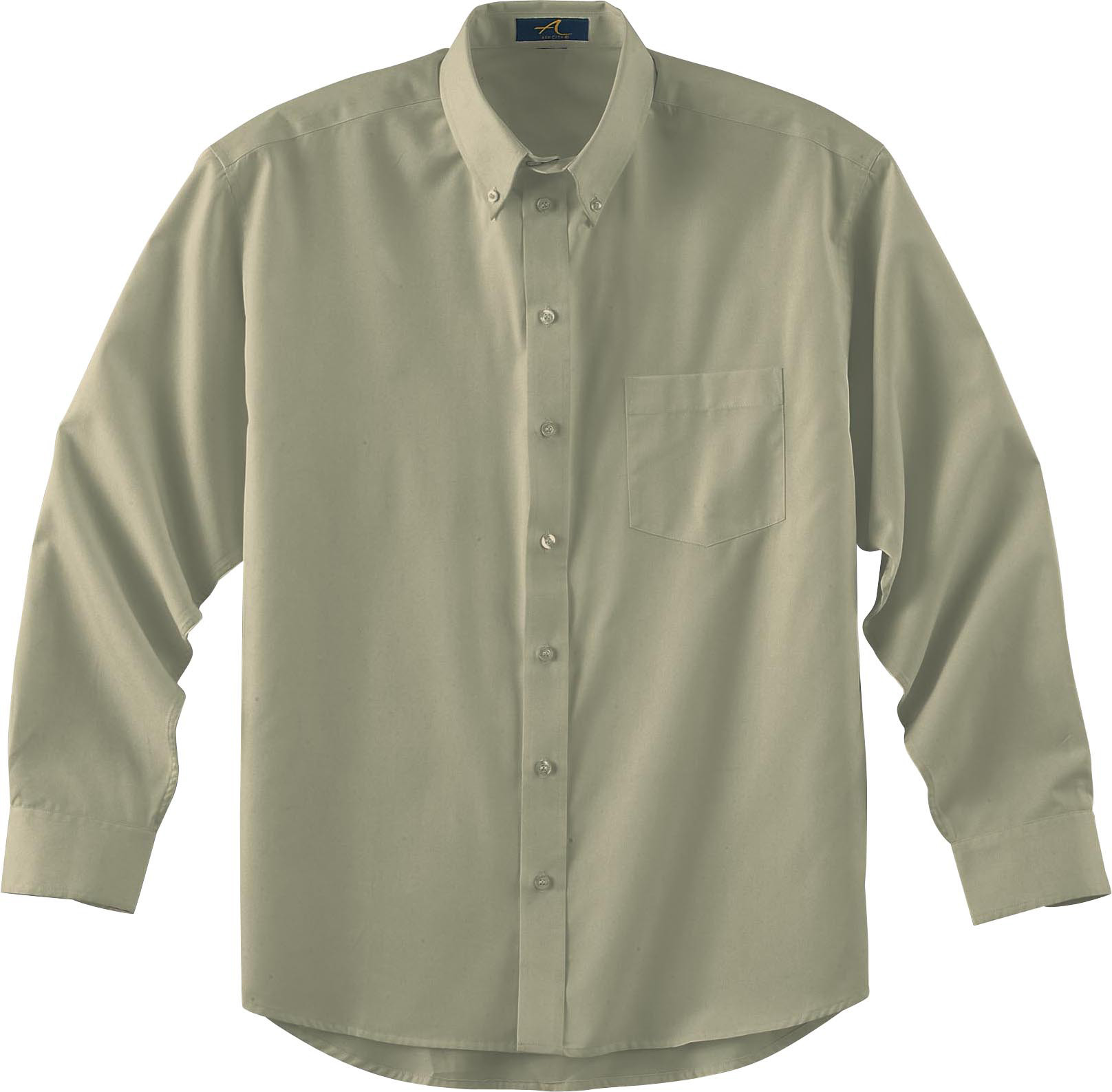 Ash City Teflon 87024 - Men's Long Sleeve Shirt With ...