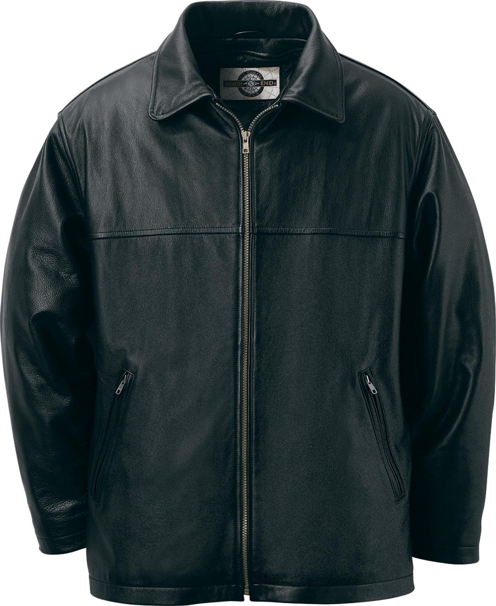 Ash City UTK 1 Warm.Logik 88076 - Men's Leather Mid Length Jacket