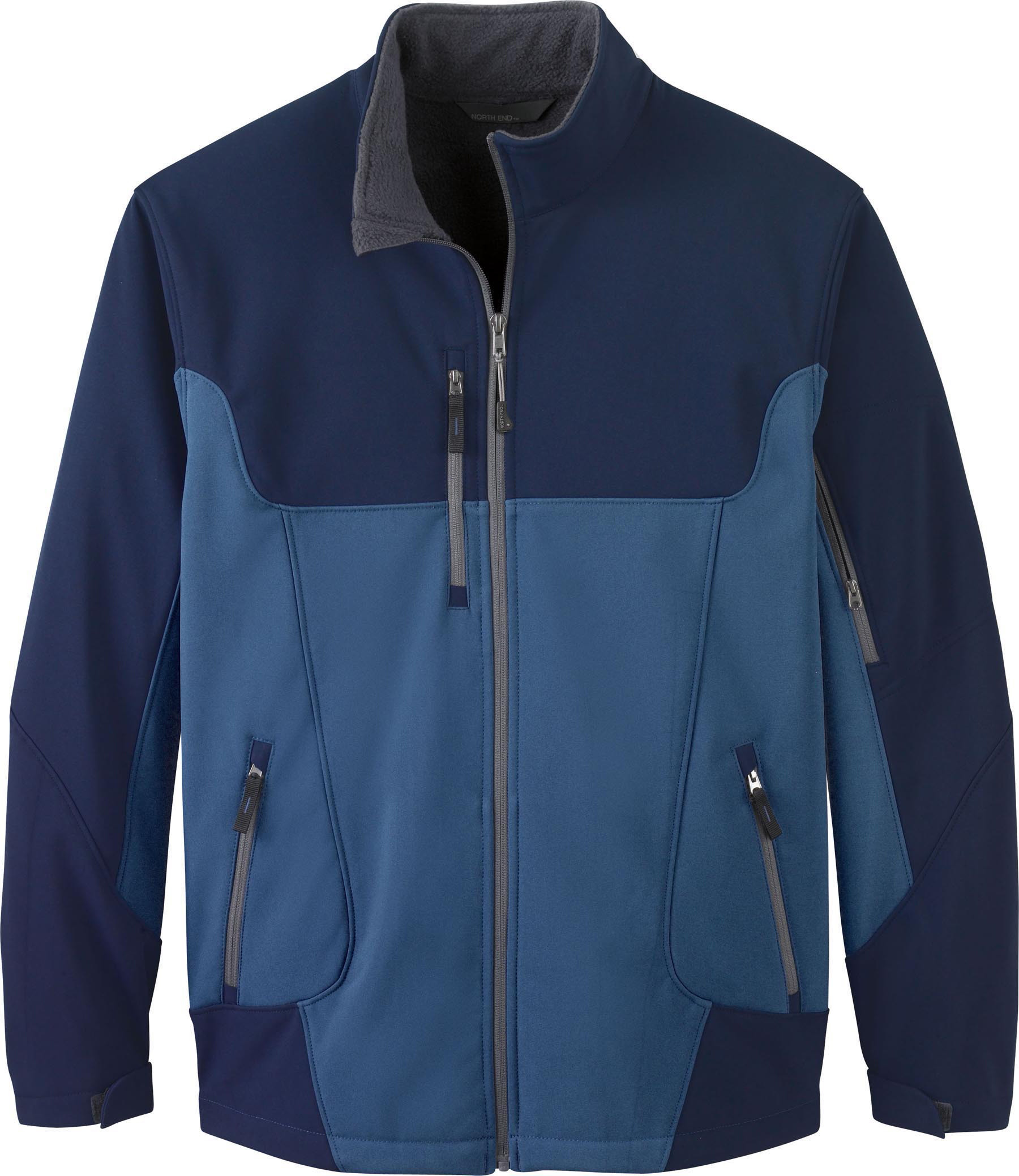 Ash City UTK 1 Warm.Logik 88156 - Compass Men's Color-Block Soft Shell Jacket