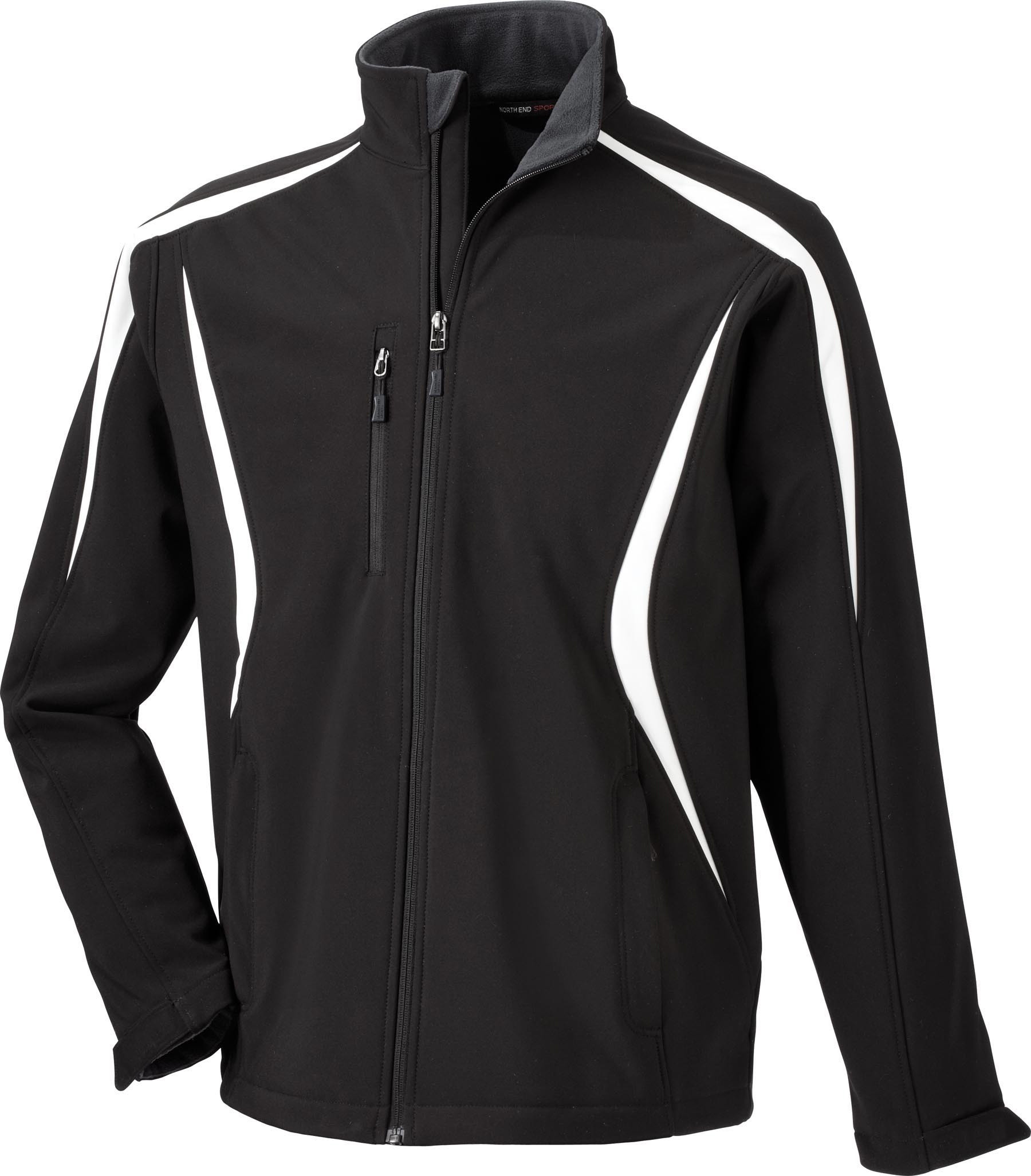 Ash City UTK 1 Warm.Logik 88650 - Enzo Men's Color-Block Soft Shell Jacket