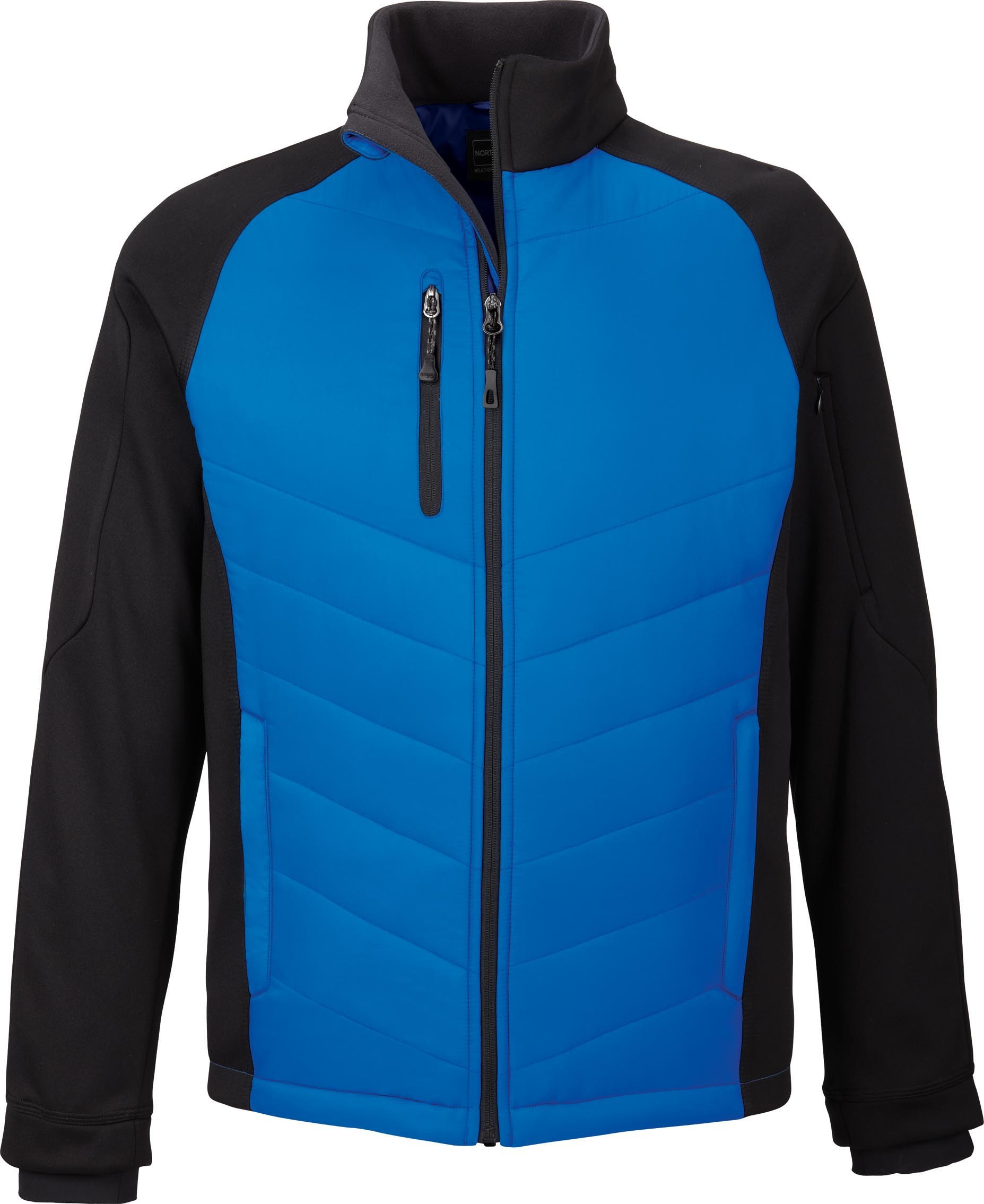 Ash City UTK 1 Warm.Logik 88662 - Epic Men's Insulated Hybrid Bonded Fleece Jacket