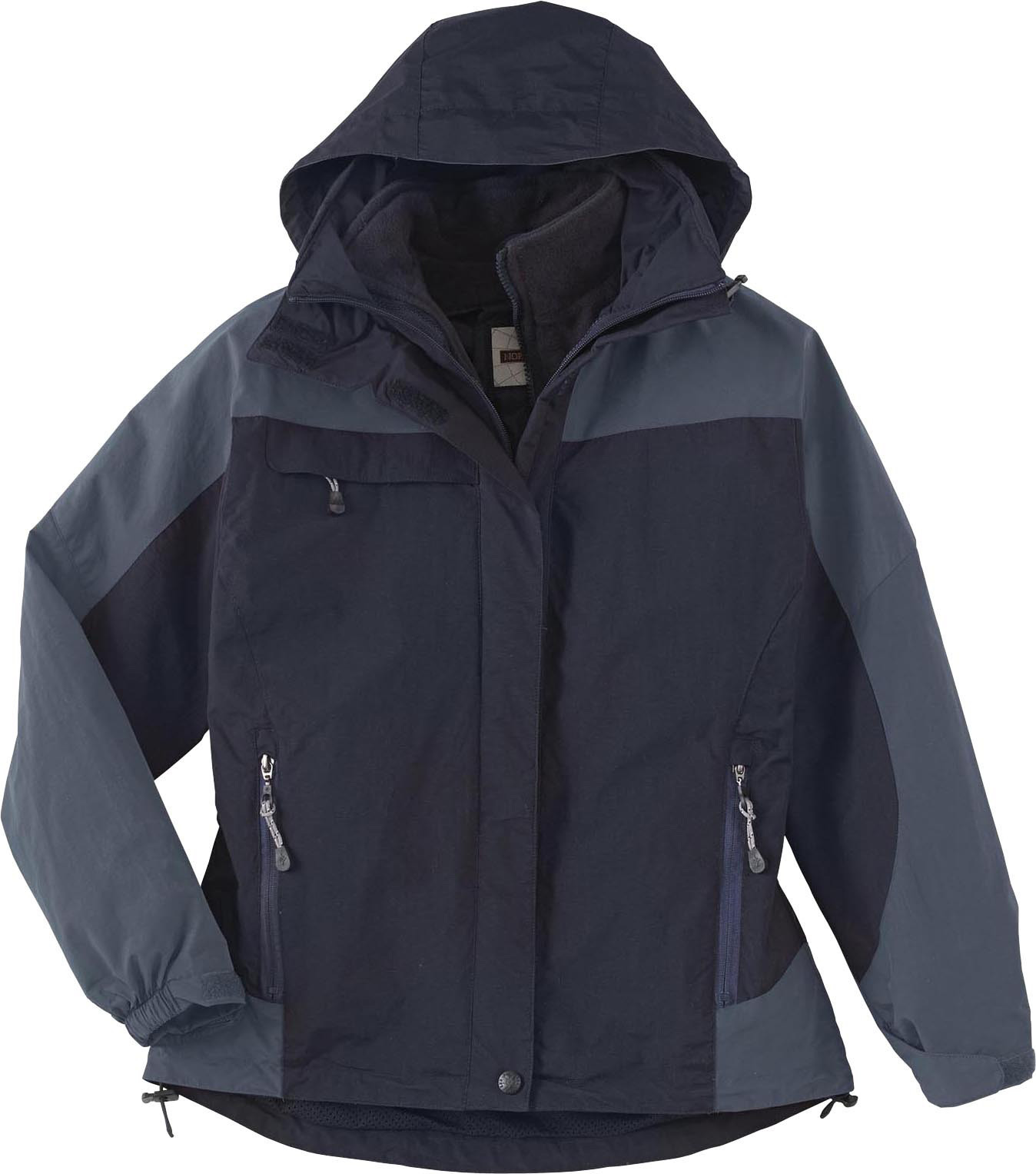 Ash City UTK 2 Warm.Logik 78038 - Ladies' 3-In-1 Mid-Length Jacket