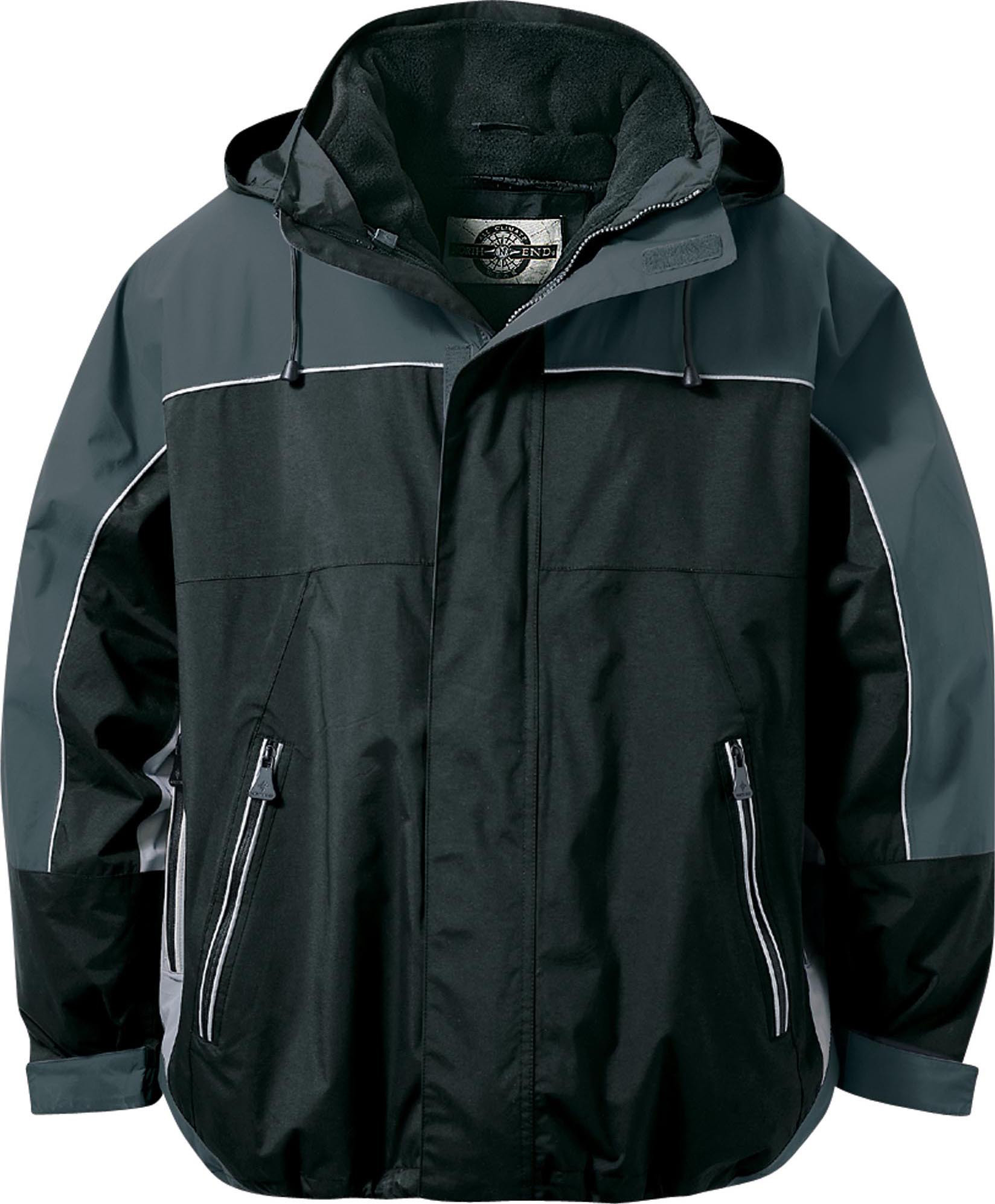Ash City UTK 2 Warm.Logik 88052 - Men's Techno Performance 3-In-1 Seam Sealed Mid-Length Jacket