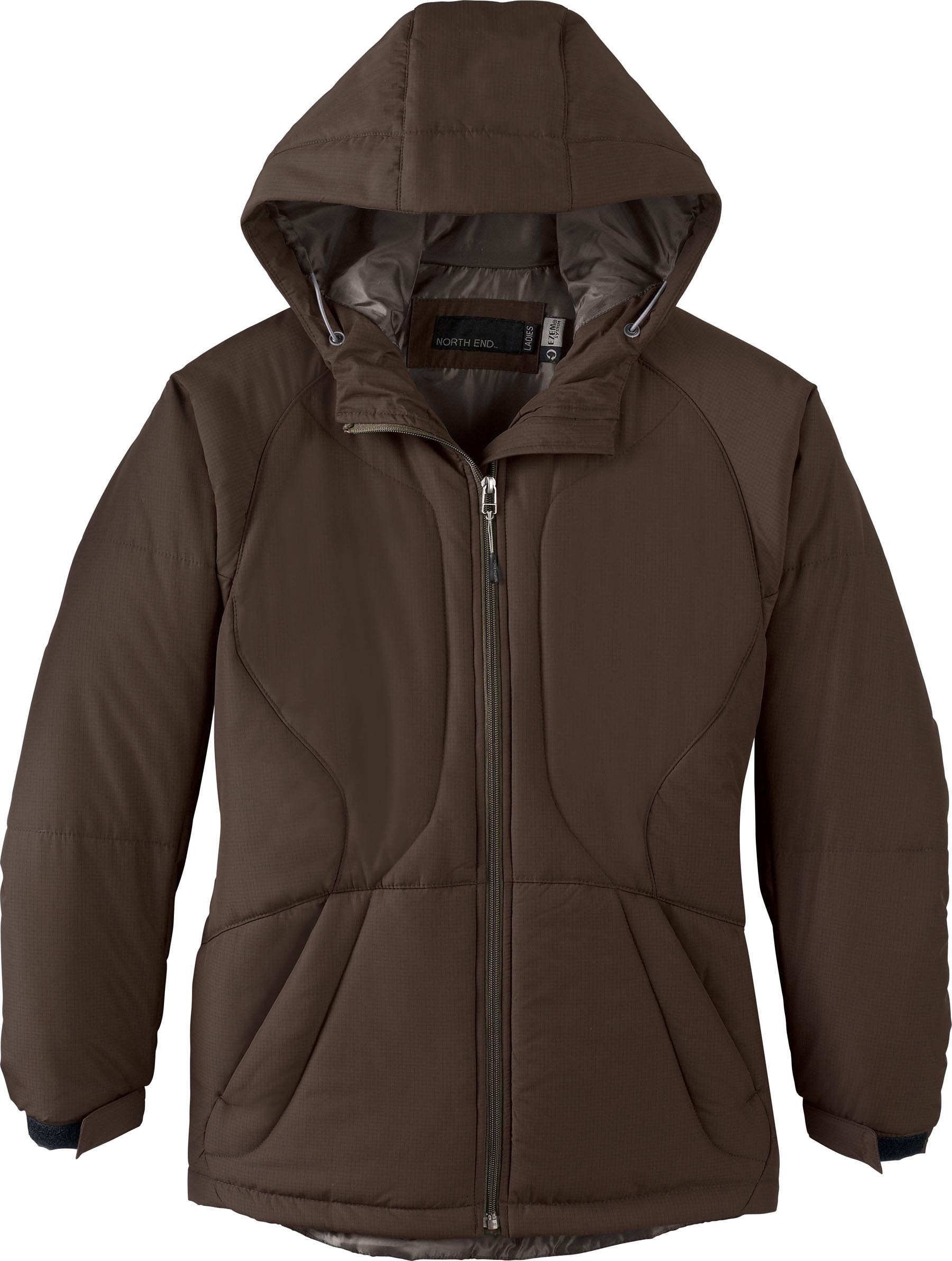 Ash City UTK 3 Warm.Logik 78082 - Ladies Polyester Ripstop ...