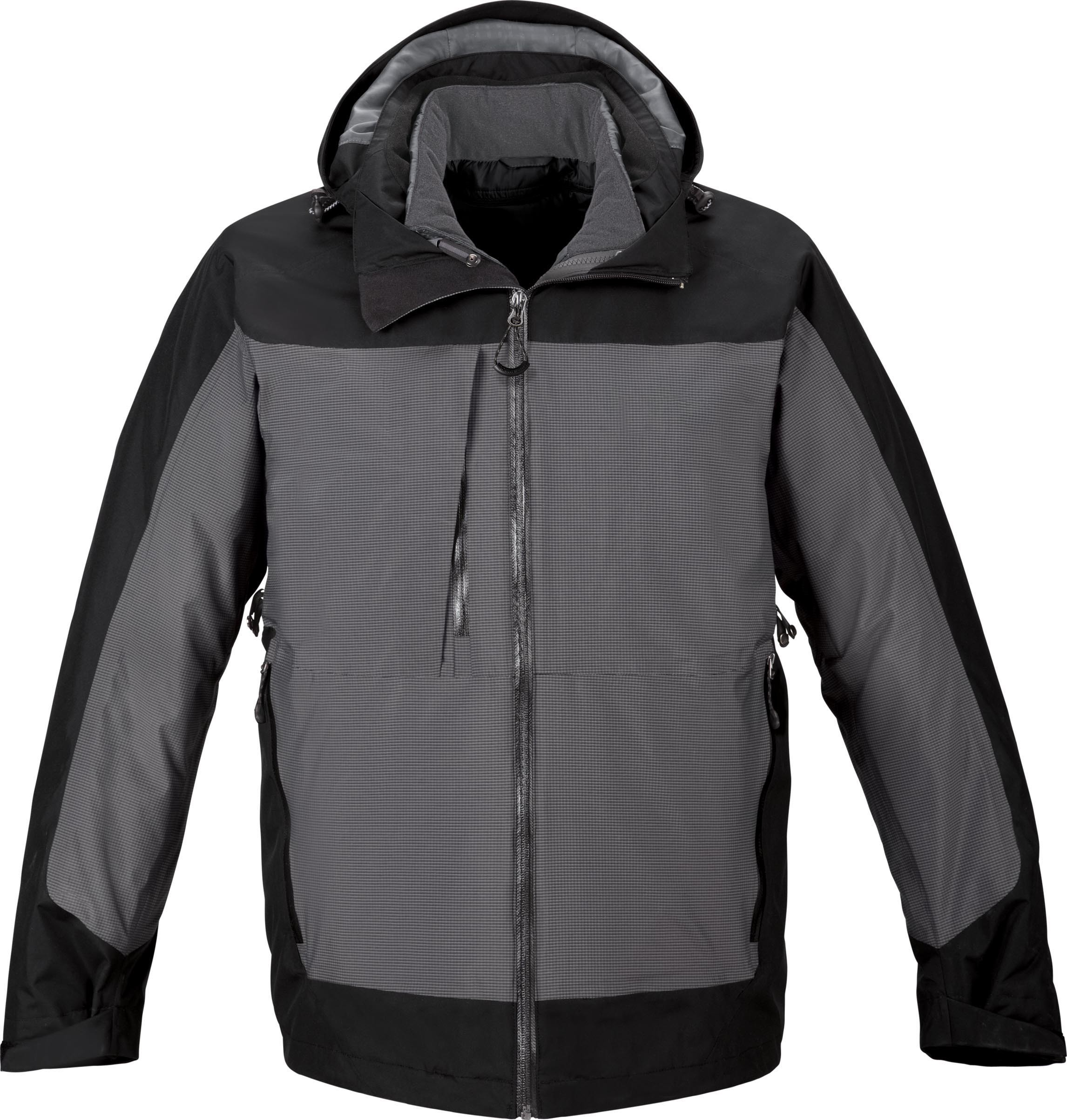 Ash City UTK 3 Warm.Logik 88663 - Alta Men's 3-In-1 Seam-Sealed Jacket With Insulated Liner