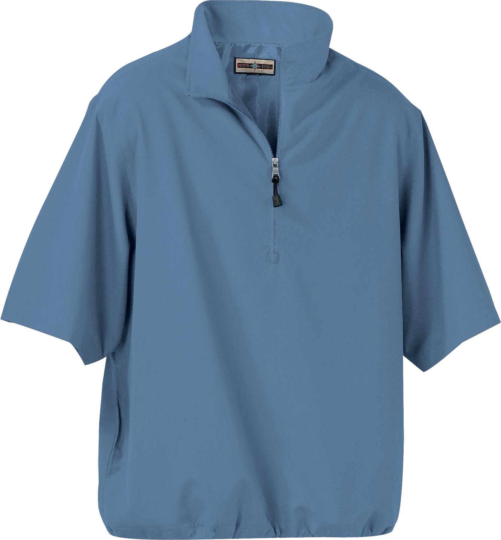 Ash City 88084 男士大码短袖防水防风衣外套
