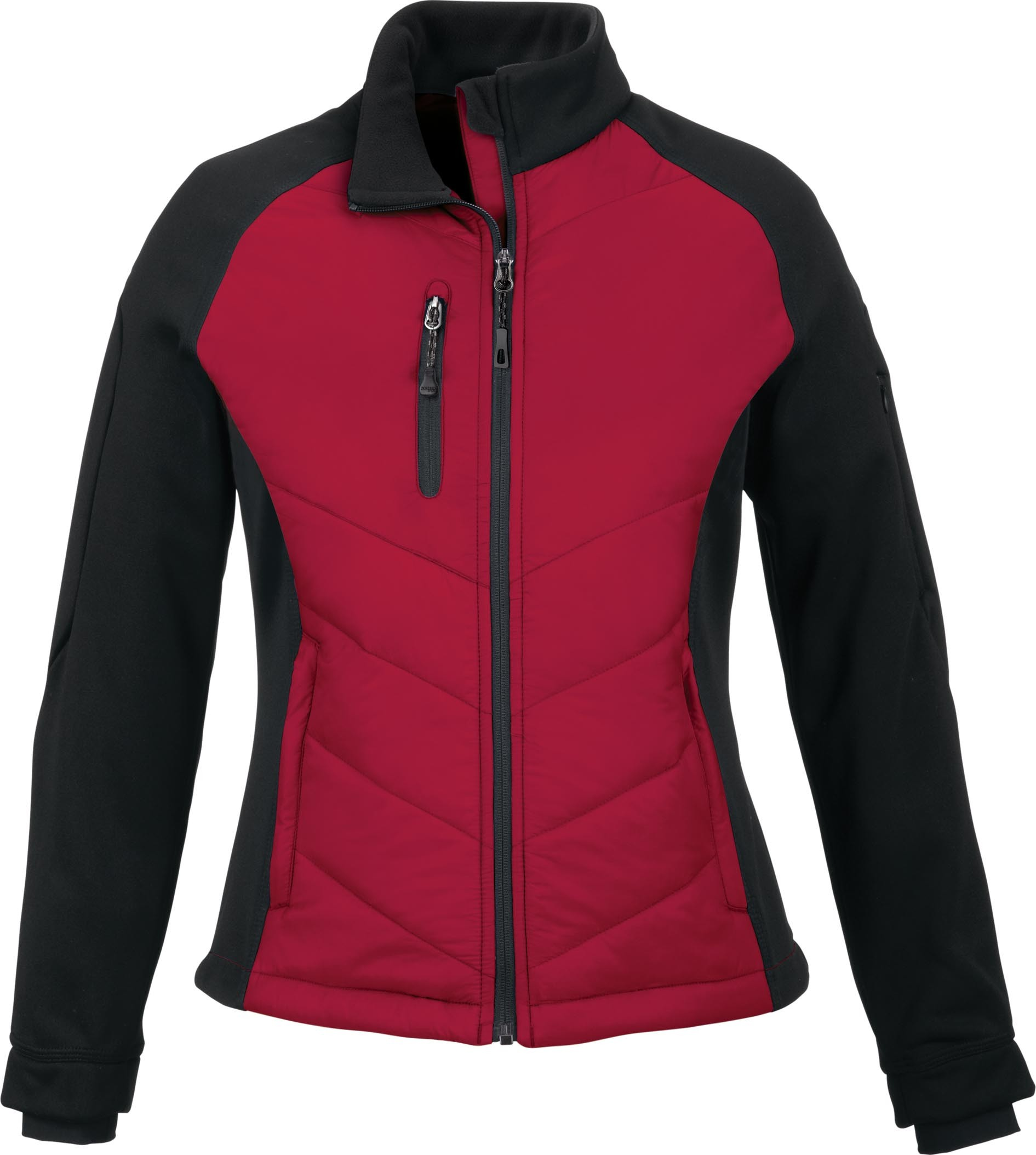 Ash City UTK 1 Warm.Logik 78662 - Epic Ladies' Insulated Hybrid Bonded Fleece Jacket