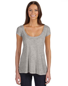 Alternative - 02668B2 Ladies' Short-Sleeve Drape Top