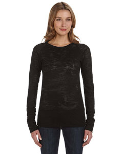Alternative - 02694B1 Ladies' Burnout Long-Sleeve Raglan