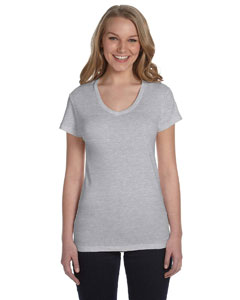 Alternative - AA1211  Ladies' Baby Rib V-Neck