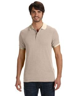 Alternative - AA1901  Men's Feeder Stripe Polo
