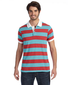 Alternative - AA1905 Men's Ugly Stripe Short-Sleeve ...