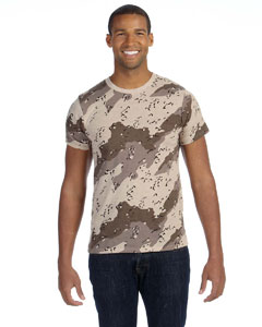 Alternative - AA1935A  Men's Printed Short-Sleeve Crew