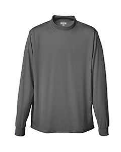 Augusta Drop Ship - 799  Wicking Mock Turtleneck-Youth