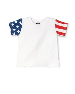Code V Drop Ship - 3376 Toddler Stars & Stripes T-Shirt