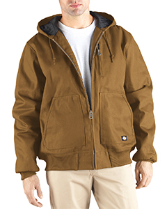 Dickies Drop Ship - TJ718T Rigid Duck Hooded Jacket