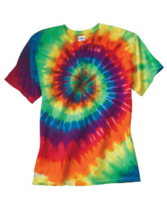 Dyenomite - 20BMS Youth Rainbow Spiral T-Shirt