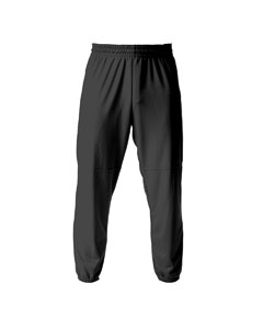 A4 Drop Ship - NB6120 Youth Elastic Bottom Pull-On Baseball Pant