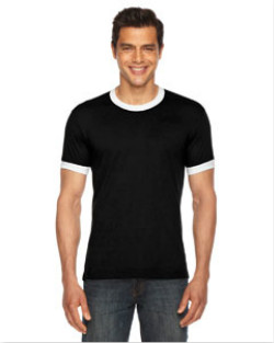 American Apparel - BB410  Unisex Poly-Cotton Short-Sleeve ...