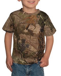 Code V Drop Ship - 3385 Toddler Officially Licensed REALTREE Camouflage Short Sleeve T-Shirt