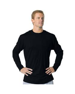 A4 Drop Ship - N3221 Adult Long Sleeve Fusion Cotton ...