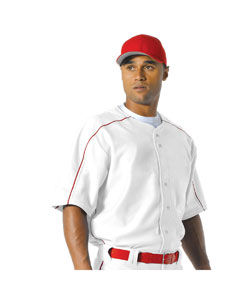 A4 Drop Ship - N4214 Men's  Warp Knit Baseball Jersey