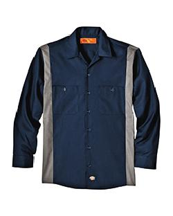 Dickies Drop Ship - LL524  Industrial Long-Sleeve Color ...