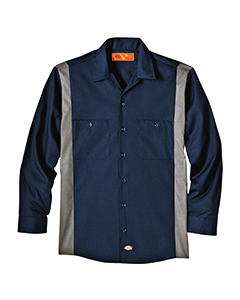 Dickies Drop Ship - LL524T  Industrial Long-Sleeve Color ...