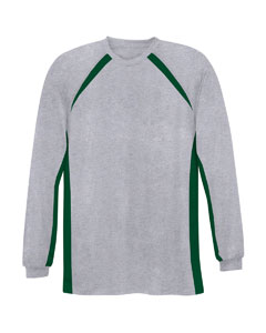 A4 Drop Ship - N3229 Adult Long Sleeve Colorblock Performance Tee