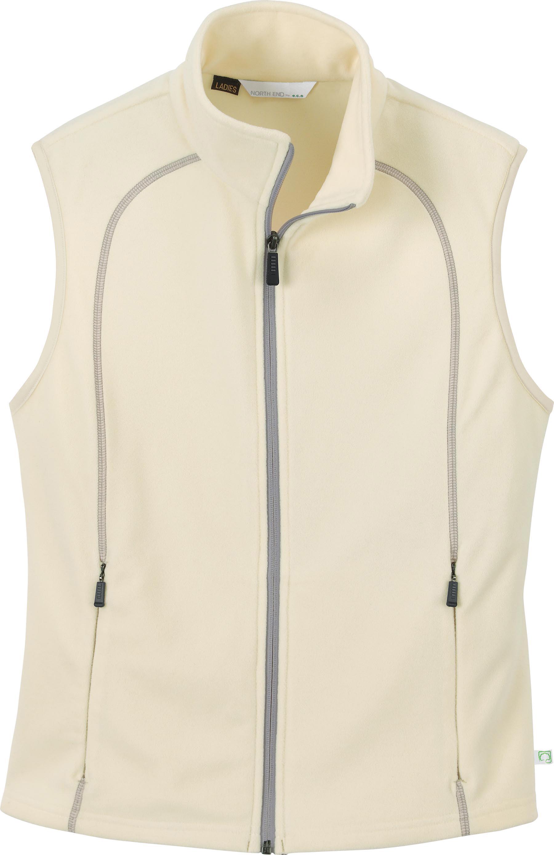 Ash City e.c.o Fleece 78063 - Ladies' Recycled Fleece Full-Zip Vest
